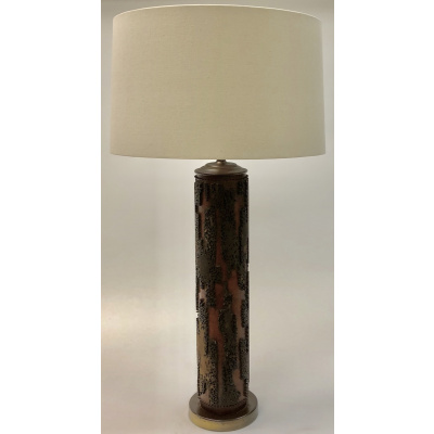 Antique Aesthetic Wallpaper Roller Lamp