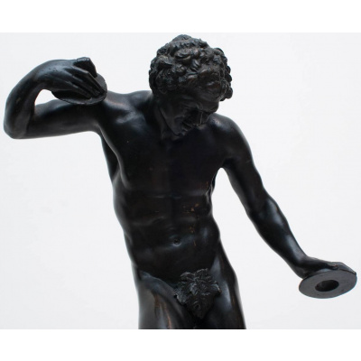 Antique Garanti Bronze Sculpture