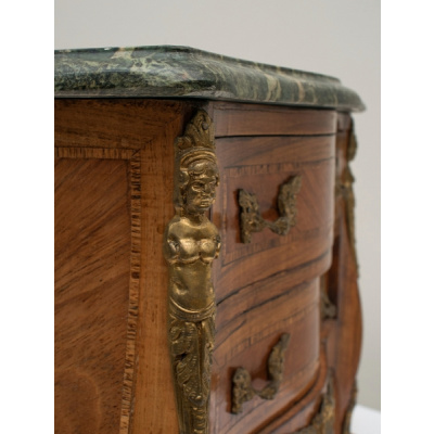 Antique Louis XV Miniature KingwoodChest