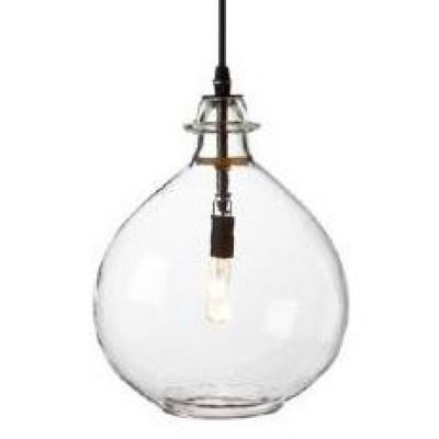 "Jules 12"" Pendant Light - Clear"