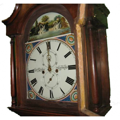 Antique Young Newcastle Case Clock