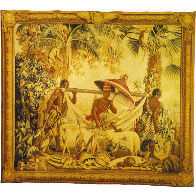 Trelliage Tapestry 18th c King'sParadise