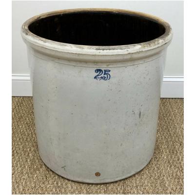 Antique 25 Gallon Beer Crock