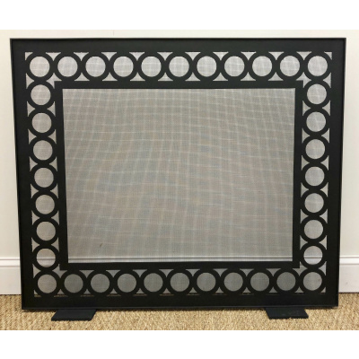 Metalworks Manor Fire Screen