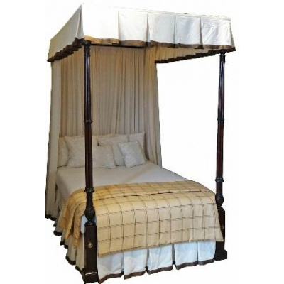 Antique Full Size Poster Bed