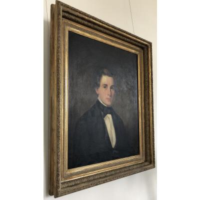 19th c. Young Gentleman Portrait