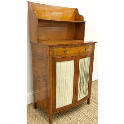 18th c. Edwardian Satinwood Side Cabinet