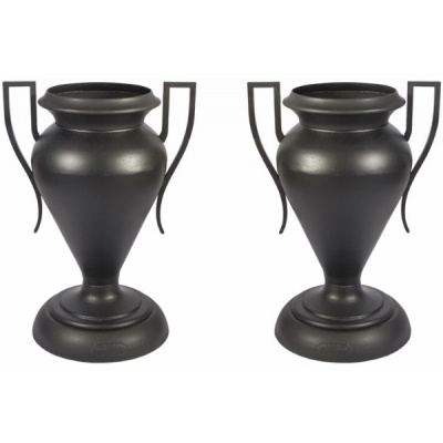 Antique Pair Kramer Grecian Senior Urns