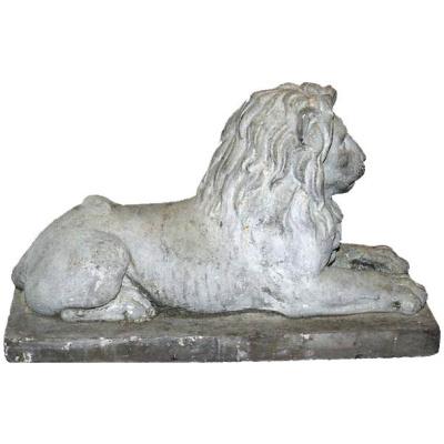 19th c. Portland Stone Lion *Pending