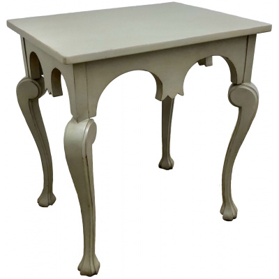 Milan Cabriole Leg Painted Side Table