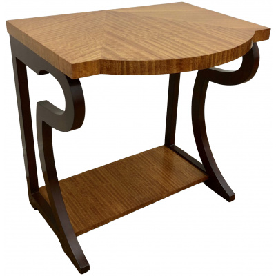 Vienna Side Table w/Eucalypyus Top