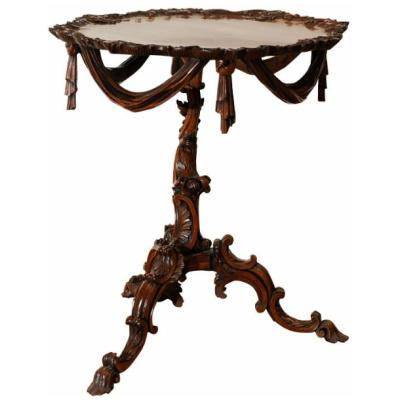 18th c. George II Tripod Table