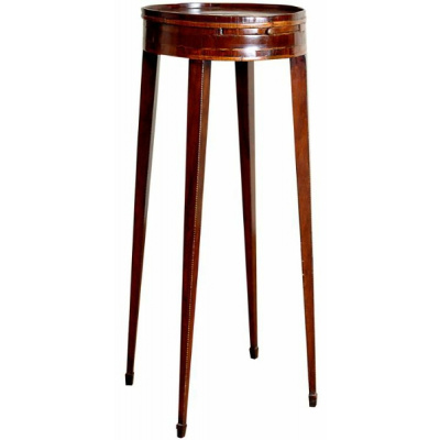 18th c. George III Mahogany Port Stand