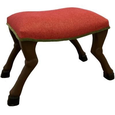 Newgate Rodolph Stool w/Red Seat