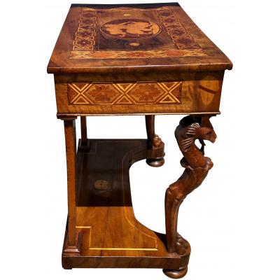19th c. Italian Small Console Table