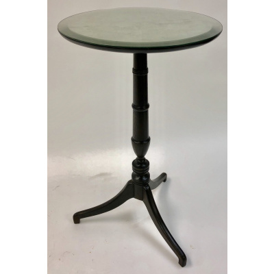 Athena Mirrored Top Candlestick Table