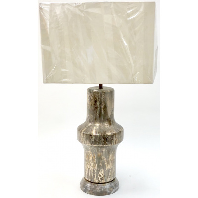 Bilbao Variegated Metalic Lamp