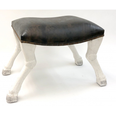 Newgate Rodolph Stool w/Leather