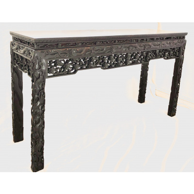 Antique Japanese 5' Altar Table