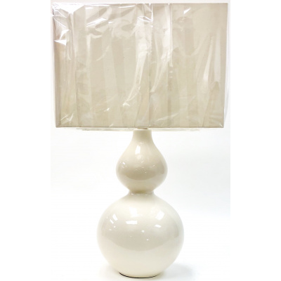 Coco White Double Gourd Lamp