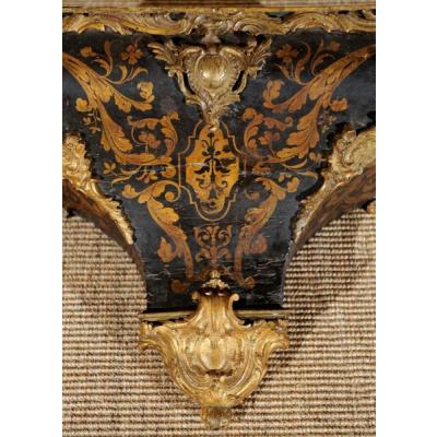 Antique Louis XV Wall Bracket w/Ormulu