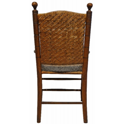 Antique English Rush Chair