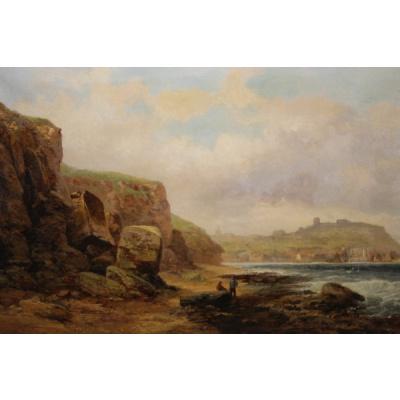 Antique R Ernest Roe British Seascape