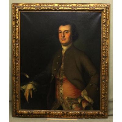 Antique J B Blackburn Colonial Portraits