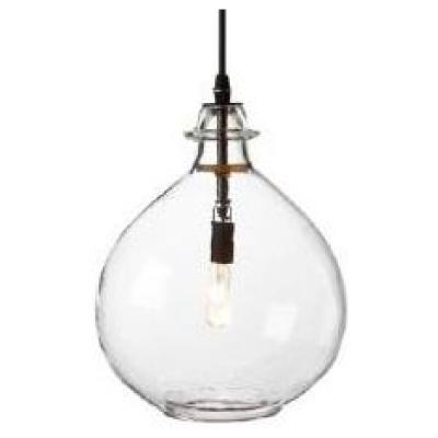 "Jules 12"" Pendant Light - Clear"