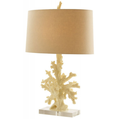 Coral Reef Lamp w/Acrylic Base