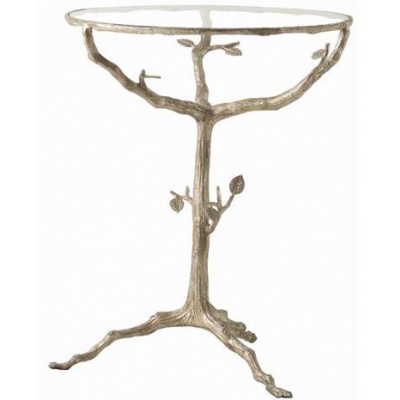 Lakewood End Table w/Silver Finish