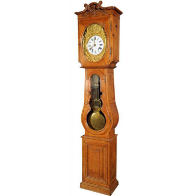 Antique Oak Tall Case Clock