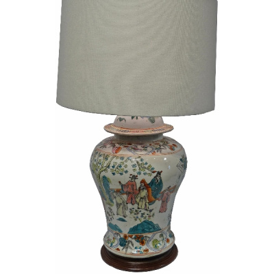 Chapman Orientalist Lamp w/o Shade