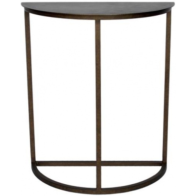 Metalworks Crescent Occasional Table