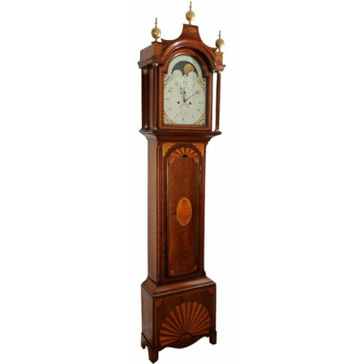 Antique T O Springfield Tall Case Clock