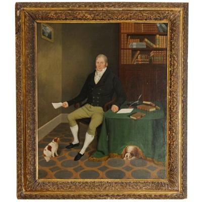 Antique Edmund Ward Gill - Gentleman