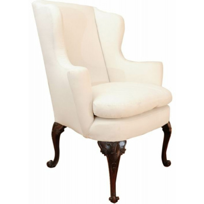 Antique George III Wing Chair