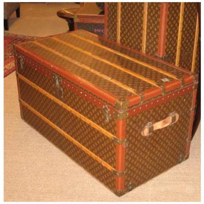"""Vintage Louis Vuitton 44"""" Trunk"""