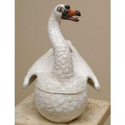 Antique Meissen Swan Tureen **Sold