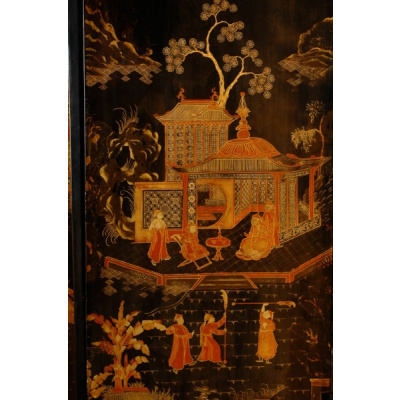 Antique 8Panel Chinese Coromandel Screen