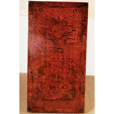 Antique Ming Dynasty Low Lacquer Table
