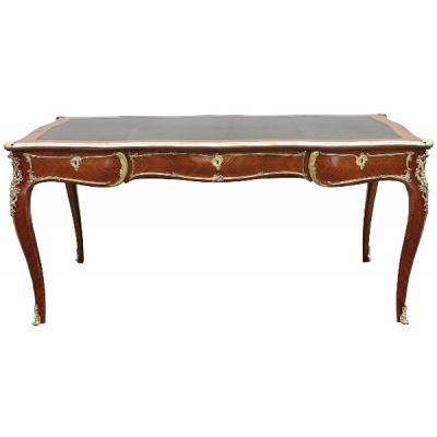 Antique Louis XV Style Bureau Plat Desk