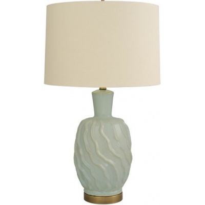 Berkeley Twist Lamp - Celadon w/o Shade
