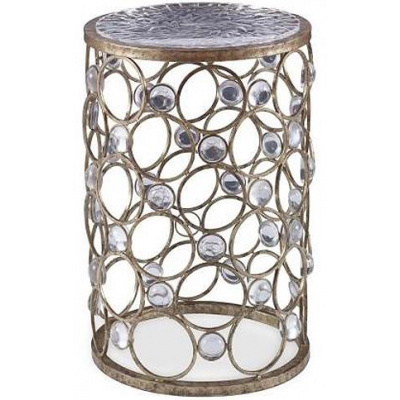 "Ansley Bubble 24"" Side Table"