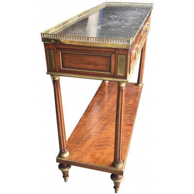 French Louis XVI Dessert Console Table
