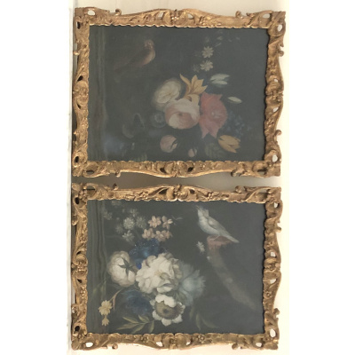 Antique Pair of Samuel Dixon Still Life