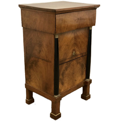 Antique French Empire Nightstand