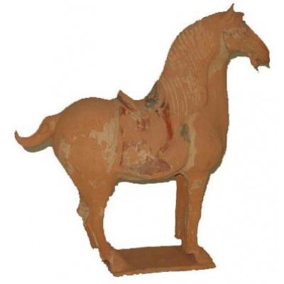 Tang Dynasty Style Horse & Saddle