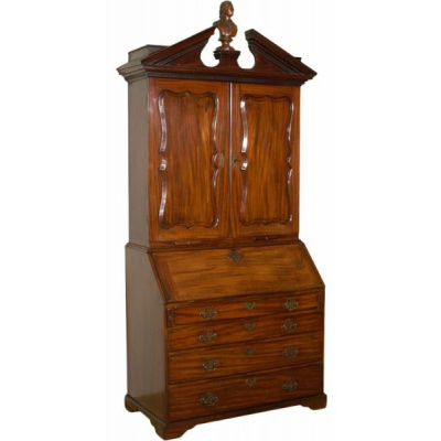 Antique English Georgian Secretary