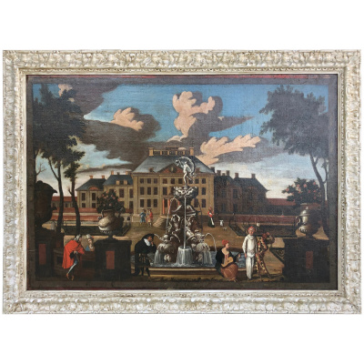17th c. Palace Courtyard, Dutch School